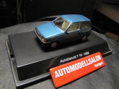Starline. Autobianchi Y10 1985 Green Metallic Modello in Scala 1:43 n. 50912