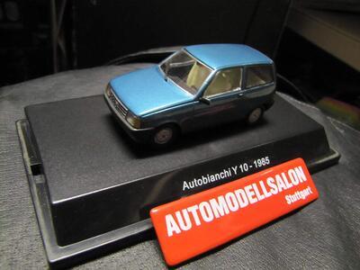 Starline. Autobianchi Y10 1985 Green Metallic Modello in Scala 1:43 n. 50912 - 3