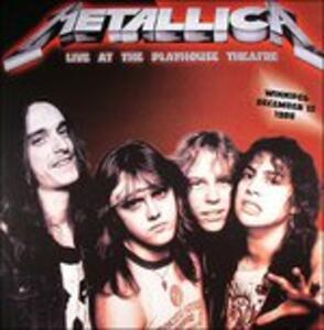 Live at the Playhouse Theatre - Vinile LP di Metallica
