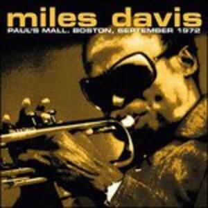 Paul's Mall, Boston, 1972. Fm Broadcast - Vinile LP di Miles Davis