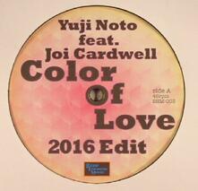 Yuji Noto - Color of Love 2016 Edit ep - Vinile LP