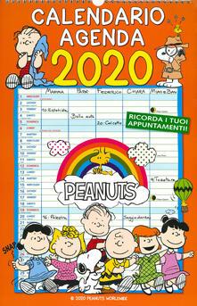 Peanuts. Calendario agenda 2020 - copertina