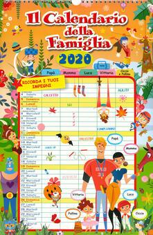Calendario della famiglia 2020 - copertina