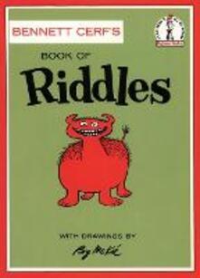 Book of Riddles - Bennett Cerf - cover