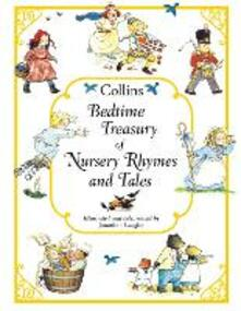 Collins Bedtime Treasury of Nursery Rhymes and Tales - Jonathan Langley - cover