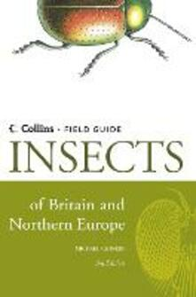 Insects of Britain and Northern Europe - Michael Chinery - cover
