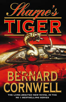Sharpe's Tiger: The Siege of Seringapatam, 1799 - Bernard Cornwell - cover