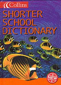 Collins Shorter School Dictionary - cover