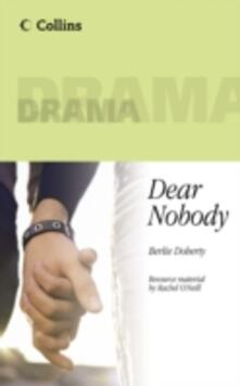 Dear Nobody - Berlie Doherty - cover