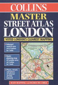 Collins Master Street Atlas London - cover