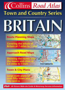 Britain Town and Country Atlas - cover