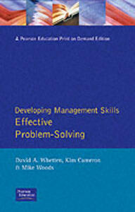 Effective Problem-solving - Mike Woods,etc.,David Whetton - cover