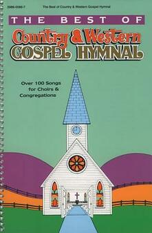 Best of Country and Western Gospel Hymnal - cover