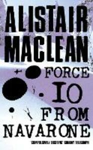 Force 10 from Navarone - Alistair MacLean - cover