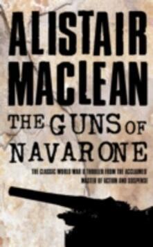 The Guns of Navarone - Alistair MacLean - cover