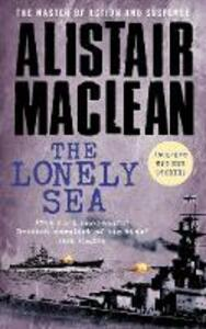 The Lonely Sea - Alistair MacLean - cover