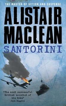 Santorini - Alistair MacLean - cover