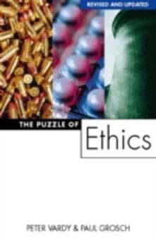 The Puzzle of Ethics - Peter Vardy - cover