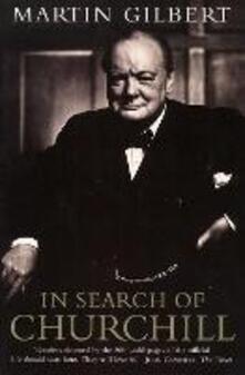 In Search of Churchill - Martin Gilbert - cover