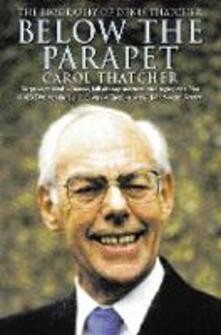 Below the Parapet - Carol Thatcher - cover