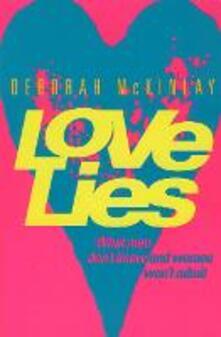 Love Lies - Deborah McKinlay - cover