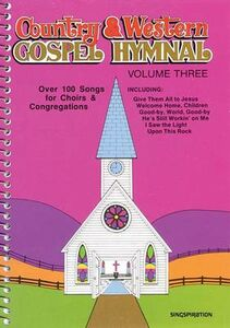 Libro in inglese Country & Western Gospel Hymnal Volume Three
