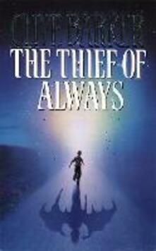 The Thief of Always - Clive Barker - cover