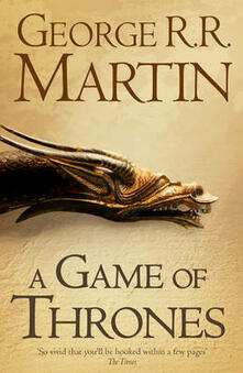 A Game of Thrones - George R.R. Martin - cover