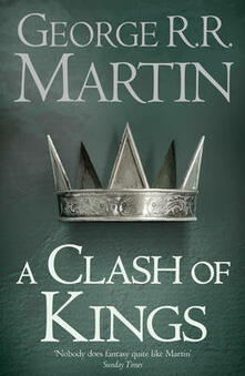 A Clash of Kings - George R.R. Martin - cover
