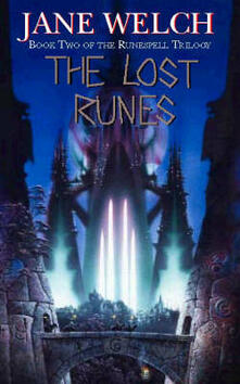 The Lost Runes - Jane Welch - cover
