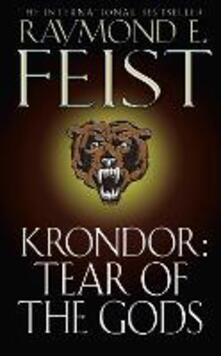 Krondor: Tear of the Gods - Raymond E. Feist - cover