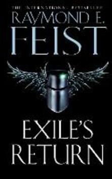 Exile's Return - Raymond E. Feist - cover