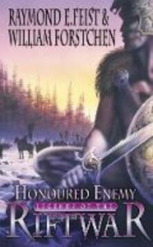 Honoured Enemy - Raymond E. Feist,William Forstchen - cover