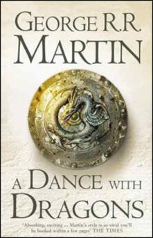 A Dance With Dragons - George R.R. Martin - cover