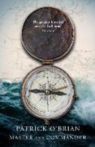 Master and Commander - Patrick O'Brian - cover