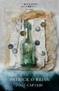Post Captain - Patrick O'Brian - cover