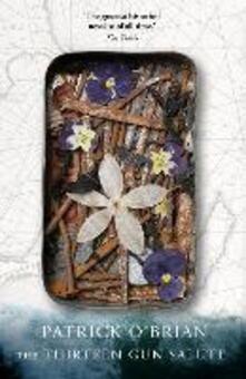 The Thirteen-gun Salute - Patrick O'Brian - cover