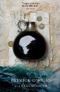 The Commodore - Patrick O'Brian - cover