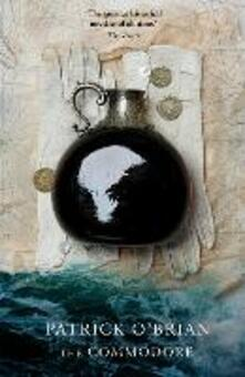 The Commodore - Patrick O'Brian - cover