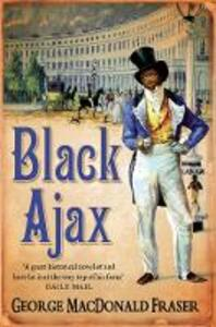 Black Ajax - George MacDonald Fraser - cover