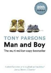 Man and Boy - Tony Parsons - cover
