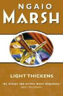 Light Thickens - Ngaio Marsh - cover