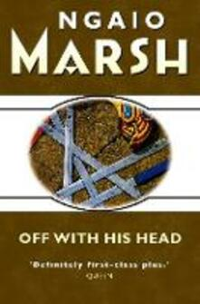 Off With His Head - Ngaio Marsh - cover