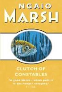 Clutch of Constables - Ngaio Marsh - cover
