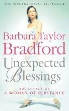 Unexpected Blessings - Barbara Taylor Bradford - cover