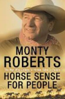 Horse Sense for People - Monty Roberts - cover