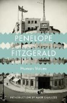 Human Voices - Penelope Fitzgerald - cover