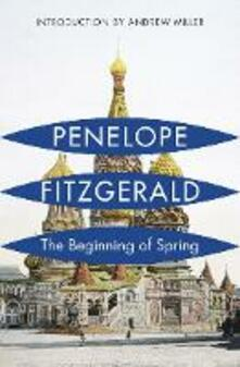 The Beginning of Spring - Penelope Fitzgerald - cover