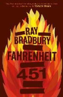 Fahrenheit 451 - Ray Bradbury - cover