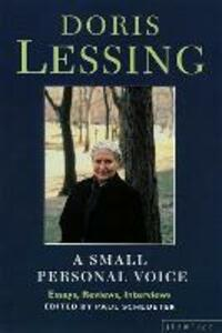 A Small Personal Voice - Doris Lessing - cover